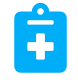 health clipboard icon